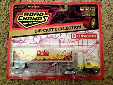 Dole Fruits Kenworth Semi and Trailer New in Blister Pack H/O Scale Die Cast