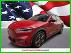 2021 Ford Mustang Select 2021 Mustang Mach-E Awd Rapid Red