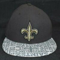 NFL New Orleans Saints Logo Men's Cap Size 7 1/2 FITTED CAP NWoT