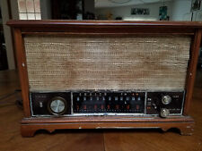 Vintage Zenith TUBE Radio Long Distance AM/FM  Wooden Case WORKS GREAT