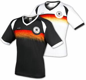 DFB Fan-Shirt WM Deutschland Damen Kinder T-Shirt Trikot Fußball 2018 weiß 4****