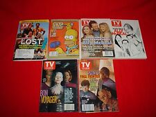 Set 6 TV GUIDE'S MAGAZINES English, and Special Issue from 2005!!!!!