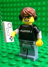 Lego Video Gamer Player One 1 Minifigures Controller City Town 71007 Series 12