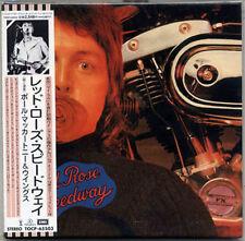 WINGS Red Rose Speedway JAPAN MINI LP CD 1999 GENUINE! PAUL McCARTNEY MEGA RARE!