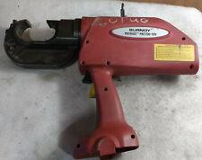 Burndy Patriot PAT750-18V 18v Ni-MH Hydraulic Crimper