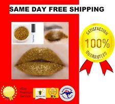 GOLD DIAMOND MATTE LIP GLOSS EYE SHADOW GLITTER POWDER MOISTURE FIXING GLUE 6ML*