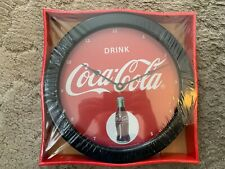 "COCA-COLA ""DRINK COCA-COLA"" CLOCK NEW (2012)"