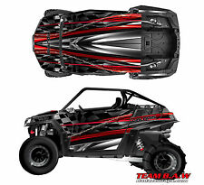 Polaris RZR 900 Design Burnout Decal Graphic Kit Wraps UTV Hood Scoop
