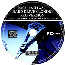 Hard Drive Disk Backup Clone Copy Make Image Cloning Restore Software PC MAC CD