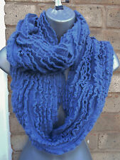 Ladies womens knitted snood scarf shawl neck wrap winter