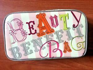 BENEFIT Make up Bag - Brand New