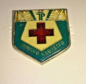 DDR Medaille - Junger Sanitäter - Orden Anstecker
