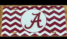 Alabama Chevron License Plate New Car Tag Metal Roll Tide