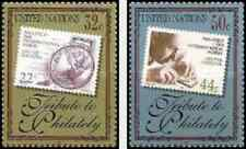 Timbres Nations Unies New York 733/4 ** année 1997 lot 27483