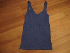 LADIES CUTE SIMPLE V NECK POLYCOTTON SLEEVELESS TOP BY SUPRE - SIZE 12/14 CHEAP