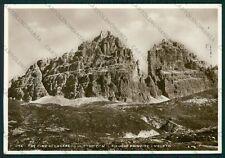 Belluno Auronzo di Cadore Misurina Tre Cime di Lavredo Foto FG cartolina VK2949