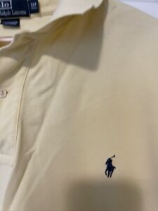 vtg Trout Fish All Over Polo Shirt size XLT xl tall ~ 19353