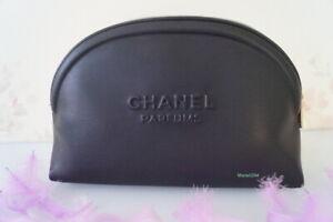 CHANEL   Trousse Maquillage  Make Up  Noire simili cuir   NEUVE