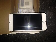 """Silver/White Apple iPhone 6 4.7"""" 64GB GSM Factory UNLOCKED Smartphone"""