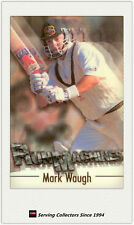 1996/97 Futera Cricket Decider Cards Regular Run Machine RM4 Mark Waugh