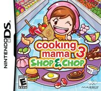 Cooking Mama 3: Shop & Chop - Nintendo DS Game - Game Only