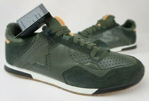 Diesel Men's Sneakers Remmi-V S-Furyy Green Hedge Casual Shoes Size 12 US