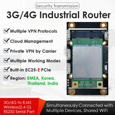 4G LTE Industrial Wireless WiFi Router SIM Card Slot EC25-E Bundled for EMEA