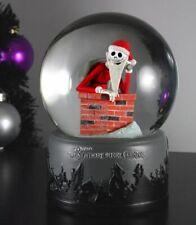 NECA Nightmare Before Christmas CHIMNEY SANTA JACK Snow globe Waterball Bubb