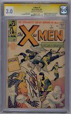 X-MEN #1 SS CGC 3.0 ORIGIN/1ST X-MEN SIGNED BY STAN LEE