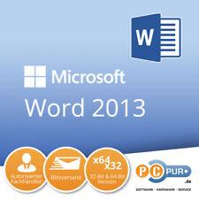 MS Microsoft Word 2013 1PC Original 64/32-Bit