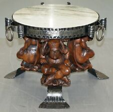 JEAN MAURICE ROTHSCHILD 1902-1998 MARBLE TOP OCCASION OCCASIONAL COFFEE TABLE