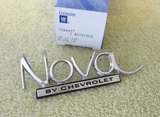 * NOS 1969-72 Chevy II Nova SS Yenko 350 396 Trunk Emblem Name Plate GM 8701089
