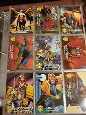 JUDGE DREDD: THE EPICS (COMIC ART) Complete Trading Card Set from 1995 + chase