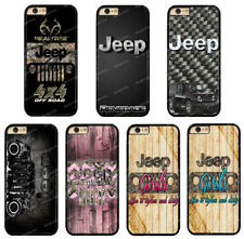 Jeep Realtre Camo Road Girls Rubber Phone Case Cover For iPhone / Samsung