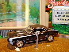 1969 CHEVROLET CAMARO SS SUPER SPORT LIMITED EDITION MUSCLE CAR 1/64 JL HOT!!