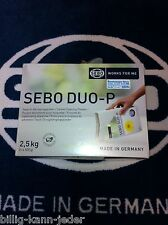 SEBO DUO-P 2,5kg Rug Cleaning Powder 5 x 500 g for ca.50-100qm gp1000g