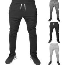 Chándal para Hombre Pantalones de Corredores Correr SPORTS Gimnasio New