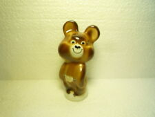 GREAT MISHA THE BEAR FIGURE MASCOT OLYMPIC SUMMER GAMES MOSCOW 1980 PORCELAIN
