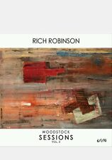 RICH ROBINSON WOODSTOCK SESSIONS VOL 3- CD W/ AUTOGRAPHED CD INSERT BLACK CROWES