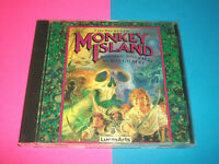 ⭐ THE SECRET OF MONKEY ISLAND - VINTAGE LUCAS ARTS DOS PC CD GAME