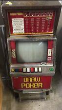 Vintage Bally Video Draw Poker Spielautomat-Sammlerstück