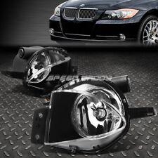FOR 2006 BMW 325I 330I 07-08 328I CLEAR LENS BUMPER FOG LIGHT LAMPS W/SWITCH