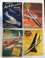 Vintage MODEL AIRPLANE NEWS Magazines