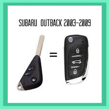 Subaru Outback 4th Gen Remote Flip Key 2003 - 2009