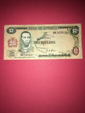 Bank Of Jamaica $2 Banknote Pic55a 1960