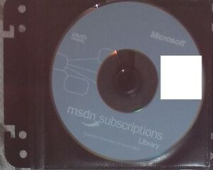 2004 January DVD - Microsoft MSDN Subscriptions Library Genuine disc + sleeve