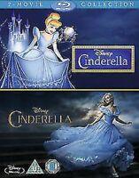 Cinderella (Live Acción) / (Animación) Blu-Ray Nuevo (BUH025550