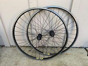 """Mavic X139 Mountain Bike Wheel Set 26"""" Rim Brake Cannondale Hubs"""