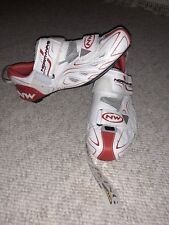 Road Bike cycling shoes NORTHWAVE womens white NEW