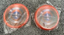 Captain America The First Avenger Flyings Disc / Frisbee X 2 - Rare! - From 2011